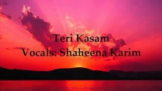 Teri kasam humko teri yaadein - Shaheena Karim