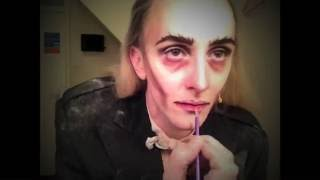 Riff Raff Make Up: Kristian Lavercombe transforms into Riff Raff