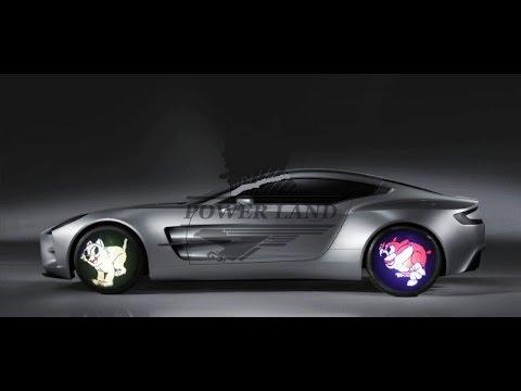 DIY RGB Анимация для колес автомобиля!Улетный апгрейд авто!На дороге Вас будет трудно не заметить!