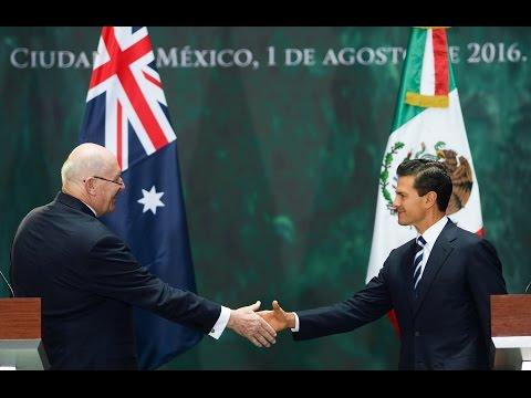 Encuentros con el Presidente - Visita del Gobernador General de Australia
