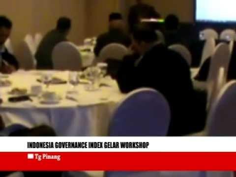 Indonesia governance index gelar workshop