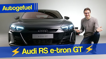 2021 년 아우디 e- 트론 GT, 가장 강력한 RS e- 트론-아우디가 테슬라 모델 S와 포르쉐 타이 칸에 도전!