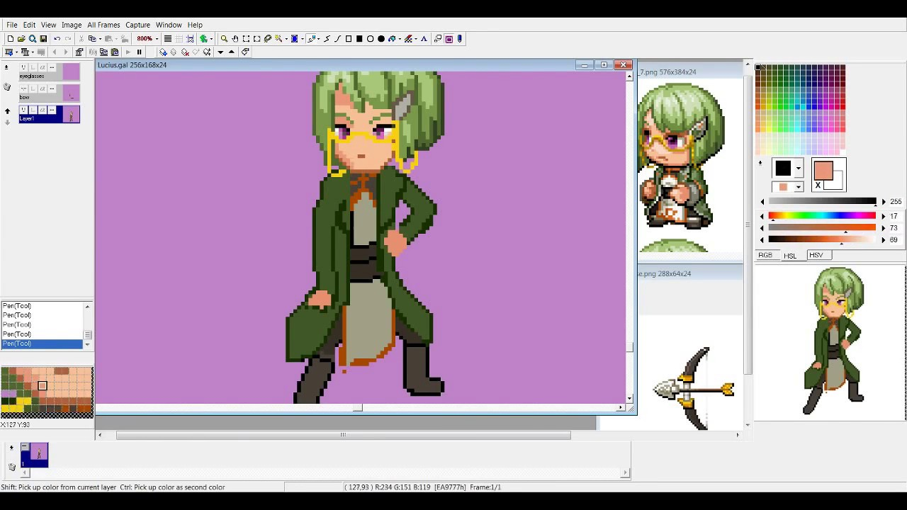 Video Game Sprite Bases – Fondos de Pantalla