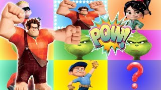 RALPH BREAKS THE INTERNET Giant Smash Game with Wreck-It Ralph and The Grinch Movie