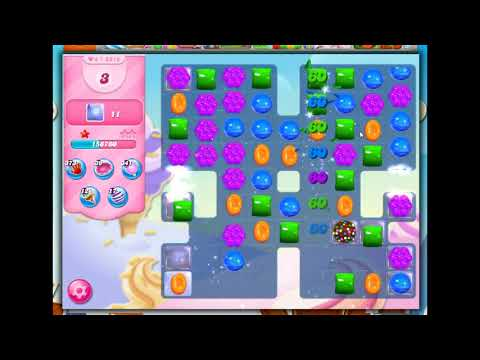 Candy Crush Level 2218 Talkthrough, 15 Moves 0 Boosters