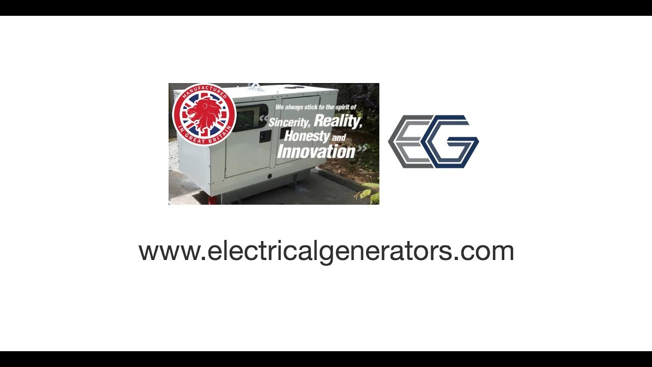 Ford Stamford 60 Kva Diesel Generator Stock No Epg0325 Youtube Logo