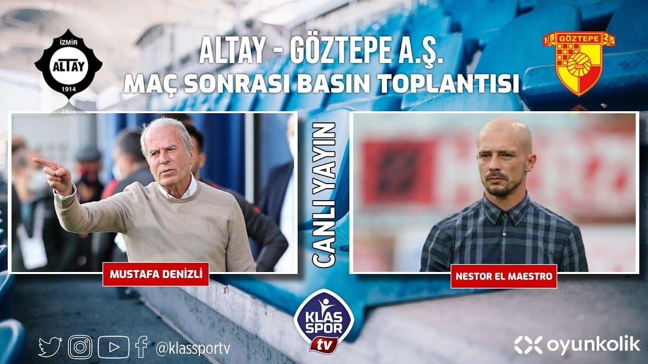 Altay - Göztepe Basın Toplantısı ᴴᴰ (CANLI)
