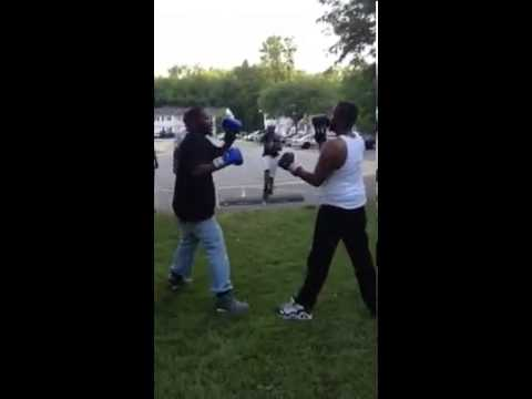 Boxing in tha hood pt. 2