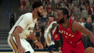 NBA Preseason 10/11 Toronto Raptors vs New Orleans Pelicans Full Game – NBA 2K