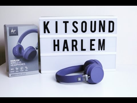 kitsound-harlem-wireless-headphones-unboxing-&-first-look