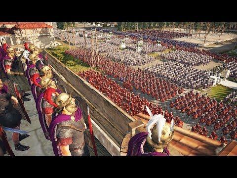 Римский Легион Антония Штурмует Позиции Легионеров Помпея! Осада Кирены в Разгар Гражданской Войны!