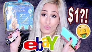 $1 EBAY BEAUTY FINDS HAUL & MORE!