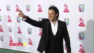 Pedro Fernandez XIII Latin Grammy Awards Alfombra Verde ARRIVALS