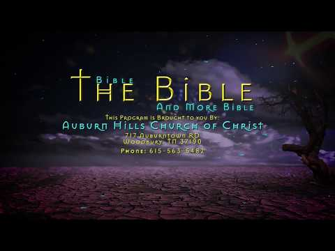 Bible, The Bible, and More Bible - Episode 5 - Temptation Part One