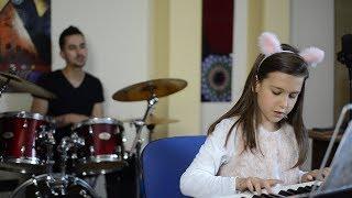 Cursanti Jam cu Daria la pian