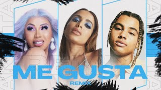 "Anitta ""Me Gusta"" Remix with Cardi B and 24KGoldn [Official Lyric Video]"