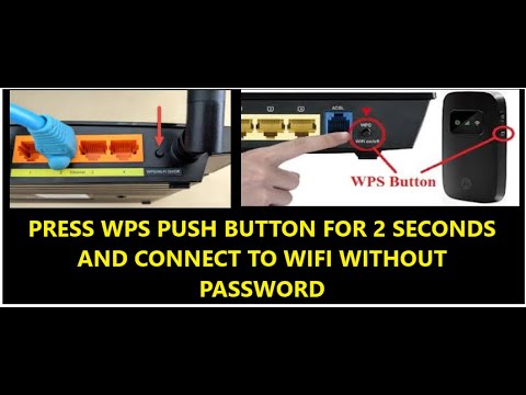 How To Connect To Wifi Using WPS Push Button In Windows 10