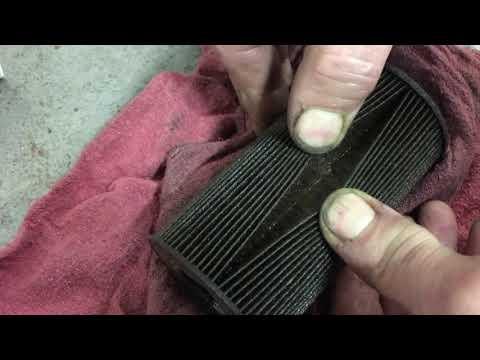 996 oil filter check for metal shavings