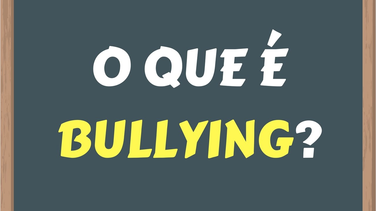 O que bullying aprender pra combater youtube for O que e portador