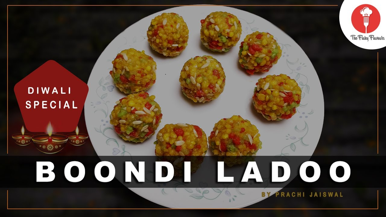 Boondi ladoo recipe   How to make boondi ka laddo   The Flaky Flavours