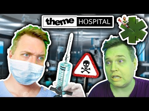 VÆRSTE HOSPITAL NOGENSINDE?! 🏥 😷 :: Vercinger i Theme Hospital Dansk Ep. 1
