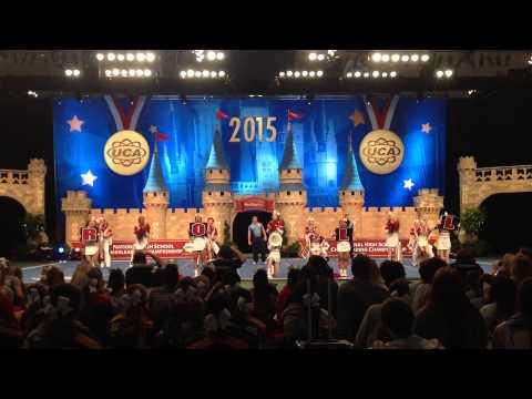 Sparkman Cheerleaders UCA Finals