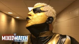 Goldust teases who his new WWE Mixed Match Challenge partner will be