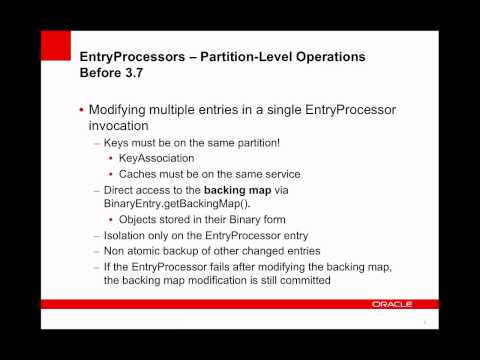 Coherence - Atomic Partition-Level Operations