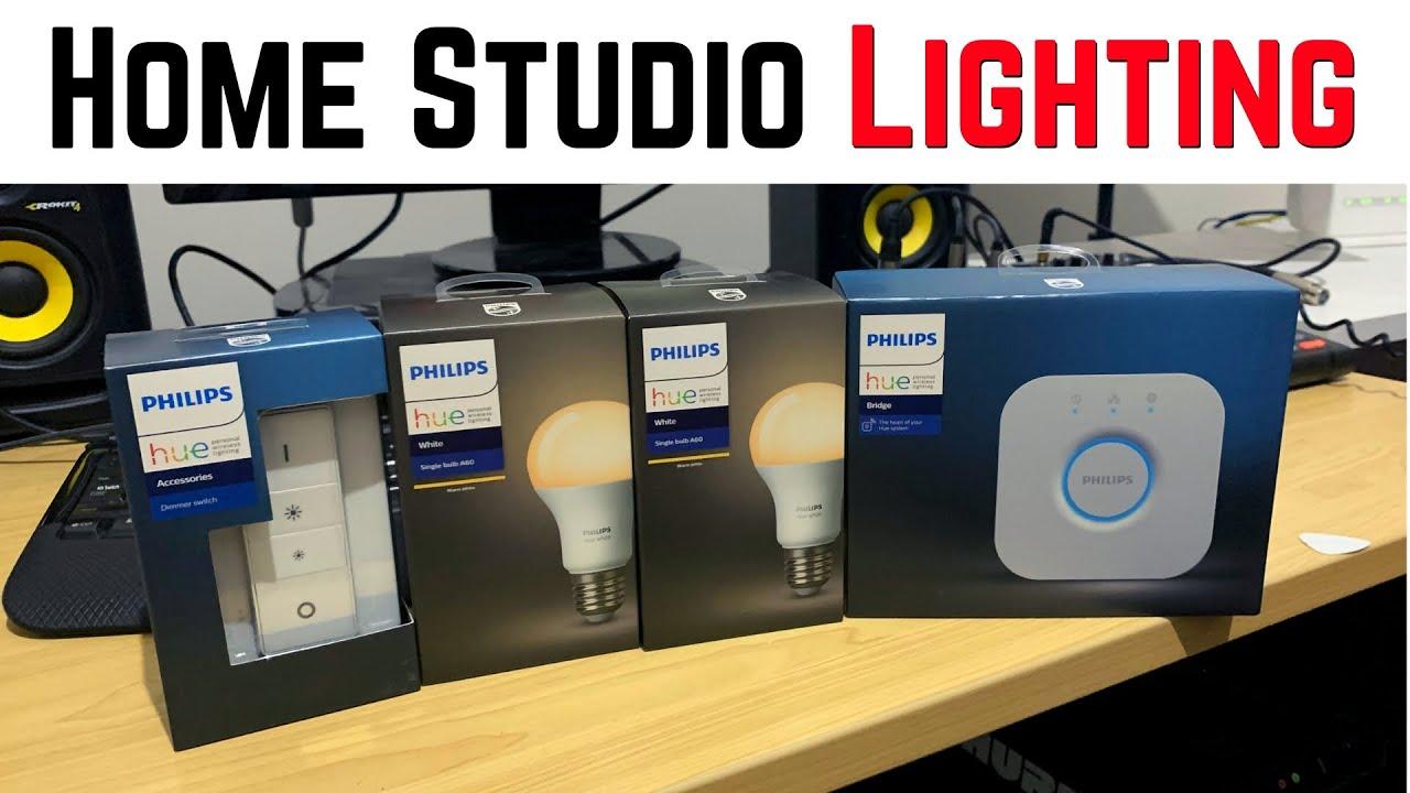 upgrading my home studio lighting with philips hue