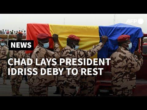 Chad buries President Idriss Deby | AFP