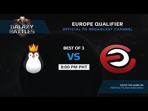 Team Kinguin vs Evil Corporation Game 1 (BO3) | Galaxy battles EU Qualifiers