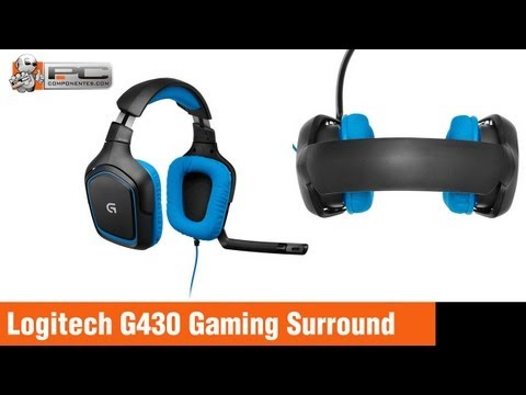 Review Logitech G430 Gaming Surround Sound 7 1 Auricular