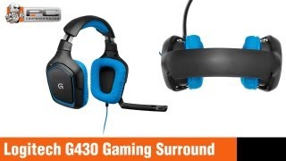review logitech g430 gaming surround sound 7 1 auricular headset