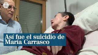 Así fue el suicidio de María Carrasco