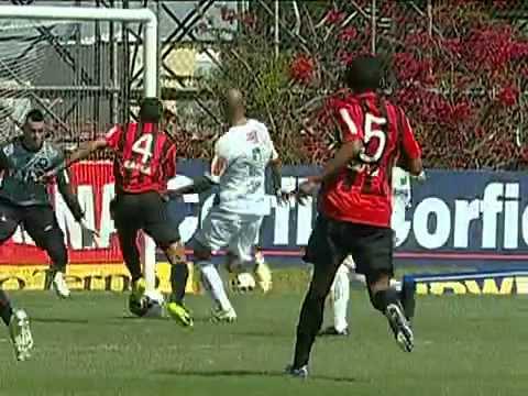 Gols - Atlético PR 5 x 4 América MG - (28ª Rodada) Campeonato Brasileiro Série B 2012