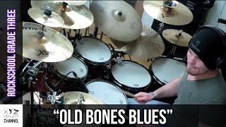 """""""Old Bones Blues"""" Rockschool Grade 3 @ Dunx Drum School"""