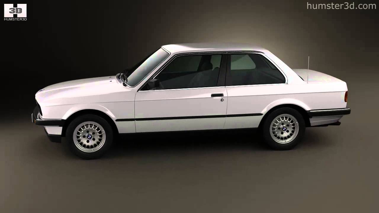 Bmw 3 Series Coupe E30 1990 By 3d Model Store Humster3d