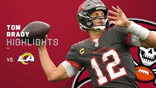 Tom Brady's Best Throws From 432-Yd Game | NFL 2021 Highlights