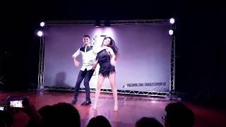 Leo Bruno and Romina Hidalgo Lamba Zouk Show @ ZoukDay 2017