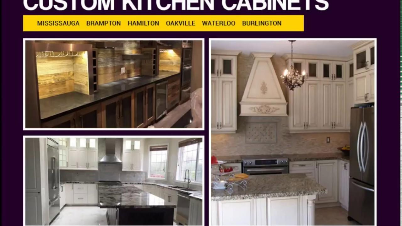 Top Kitchen Cabinets Design Brampton Waterloo Oakville