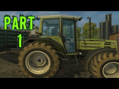 Farming Simulator 2015 Gameplay Walkthrough Playthrough Part 1: Crop Circles (PC)
