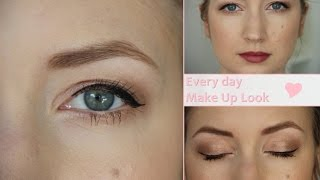 every day make up look   w7 lightly toasted