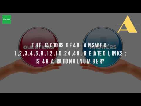What Are The Factors Of 48