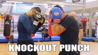 How to throw a knockout punch