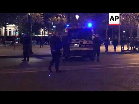 France - Shootings near Champs-Elysees and Notre Dame