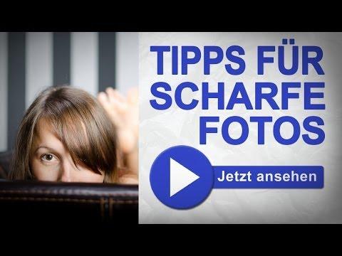 Optimale Schärfe Teil 1 - 100% scharfe Bilder - Foto Basics - Fotografie Tutorial Deutsch