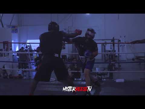 Beast Mode Boxing Gym. Sparing Session. MisterReeseFilmz