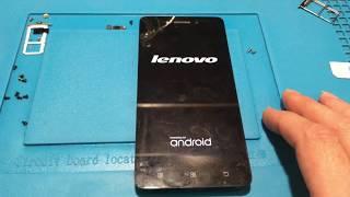 Lenovo S90a не включается. Bootloop. Замена CPU, EMMC