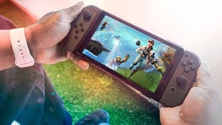 Nintendo Switch Update For Fortnite On The Switch eShop LEAKED?