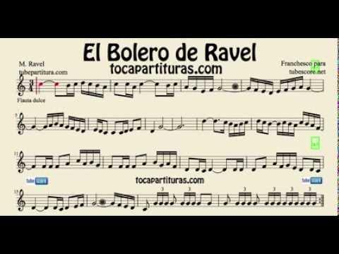 BOLERO DE RAVEL PARTITURA EPUB